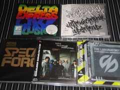 NITRO MICROHONE UNDERGROUND/DELI アルバム5枚セット 廃盤/初回盤