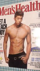 2PM ウヨン☆Men's Health メンズヘルス 2012年7月号☆韓国雑誌
