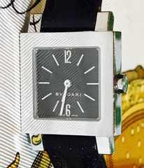 良品ブルガリクアドラードレディース時計SQ22SL稼働品