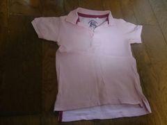 120 STANDARD GARMENTS ピンクのポロシャツ