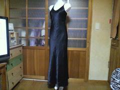 FANNY/インポートシンプル ブラック ロングドレス