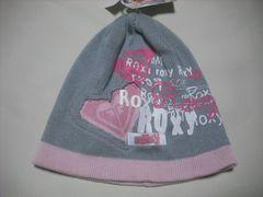 wb756 ROXY ロキシー ニット帽 ビーニー グレー