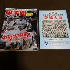 甲子園Heroes+愛知大会冊子+オマケ中京大中京DVD