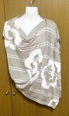 ヴィヴィアンLEDLABEL変形デザインTシャツ サイズ2