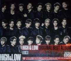 HiGH&LOW ORIGINAL BEST ALBUM ����Ձ�EXILE TRIBE �O���JSB
