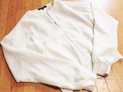 リエンダ/rienda ホワイトジャケットブルゾン