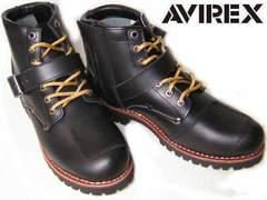AVIREXアビレックス エンジニア ブーツTIGERバイカー2931黒us9.5