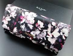 贈り物に☆新品/箱付 ポールスミス 人気花柄デザイン 長財布