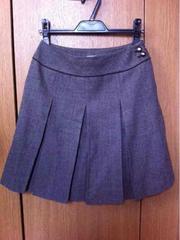anysis☆ボックスプリーツスカート★デザインスカート☆ウール★
