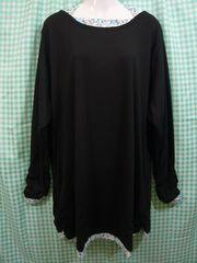 ◆新品◆大きいサイズ◆ホルターネックTシャツ ブラック◆10Lサイズ◆