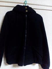 ローリーズファーム☆ほぼ新品☆シンプルなジャケット☆ダウンブルゾン☆アウターコート