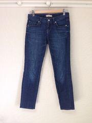ユニクロ UNIQLO ◆美品◆ デニム・ジーンズ・パンツ (56cm) ♪