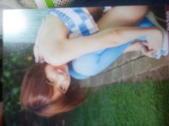 AKB48時代の篠田麻里子トレカ箱押しカード