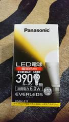 Panasonic LED電球 390ルーメン25形