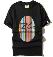 ape 半袖Tシャツ M 黒 エイプcolor a bathing ape