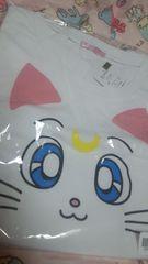 新品セーラームーン☆スピンズ☆リズリサ系☆アルテミス〓ルナ☆大きいサイズ〓Tシャツ