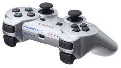 即決 PS3 純正ワイヤレスコントローラ DUALSHOCK3 サテンシルバー 送料無料
