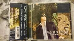 TOSHI with TーEARTH「EARTH SPIRIT」帯付/X JAPAN