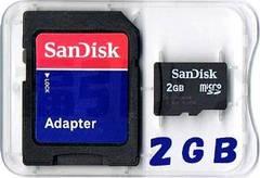 SanDisk 2GB microSD����(ϲ��SD����2�M�K) ���ʗX�֑�������