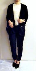 【エリオポール】美品!定番ブラックテーラードジャケット