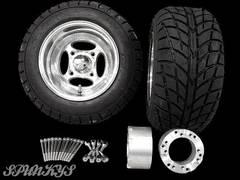 ジャイロ用 クロスホイール バギータイヤ&スペーサー70mm