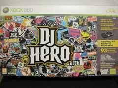 Xbox360��DJ HERO  Bundle(�^�[���e�[�u��������)���V�i���l
