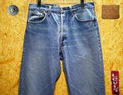 ◆廃盤◆米国88年製リーバイス501・W34(89cm)・股下84cm