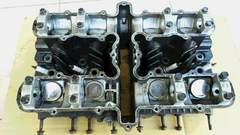 Z550FX シリンダーヘッド実働Z400FXゼファー400Z1Z2GS400CBX400エンジンキャブ