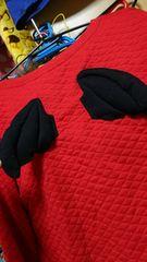 新品☆赤☆羽つき☆大きいサイズ☆トレーナー☆セーター☆コスプレ