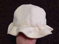 bebeのナチュラル系帽子   42?46サイズ