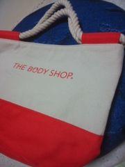 ボディショップの布バック非売品