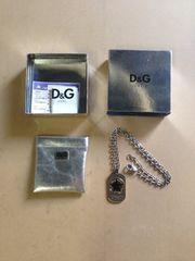 ☆D&G ドルチェ スターモチーフ プレートネックレス ドッグタグ