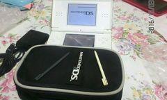 任天堂DS白 本体 カバー ケース 充電器 全付属品付 動作正常