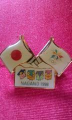 1998冬季長野オリンピックピンバッチ