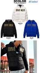 DIVINER ロゴ刺繍中綿ジャケット/ダウンタイプ/◆SLANGY系