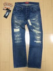 nitraid FIXED JEAN(TIGHT-FIT)(INDIGO/L)(11S/S)