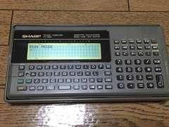 SHARP ポケットコンピューター PC-G820