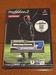 PS2  ワールドサッカー  新品  送料込み