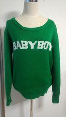WC★BABYBOYのセーター