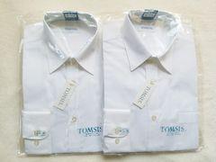 新品☆TOMSIS スクールYシャツ 長袖�A枚☆Mサイズ