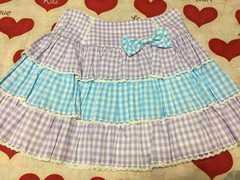 【美品】angelic pretty  夢色ギンガムスカート