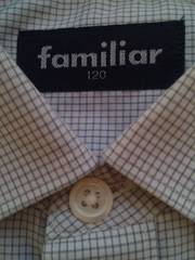 *FAMILIAR*ファミリア・フォーマルシャツ《120cm》