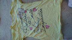 即決☆150�a黄色の半袖Tシャツ