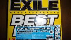 即決 シリアル封入 EXILE BEST HITS 2CD+2DVD 初回仕様盤 新品