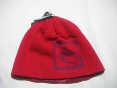 mb743 男 RIP CURLリップカール リバーシブル ニット帽 赤