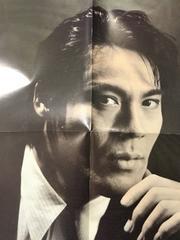 氷室京介 両面雑誌付録ポスター BOOWY personal jesus