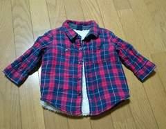 ☆babygap ボアネルシャツ80☆
