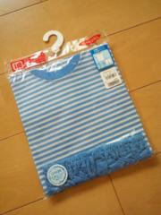 新品半袖パジャマ110青