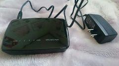 エレコム WiFi 無線LAN 中継器  WRC-300FEBK-R