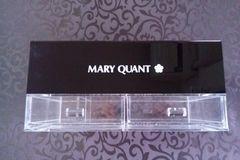 MARY QUANT/マリークヮント/ボックスティッシュケース/小物収納ケース
